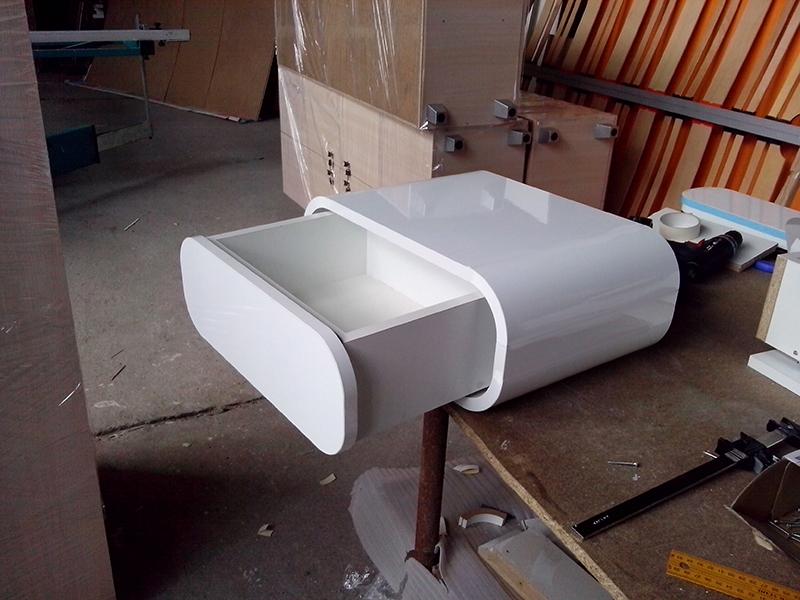 Проектиране и изработка на ефектни нощни шкафчета