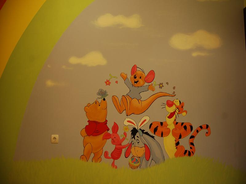 Рисувана детска стая