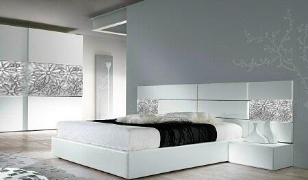 Спално обзавеждане с релефи по индивидуален проект