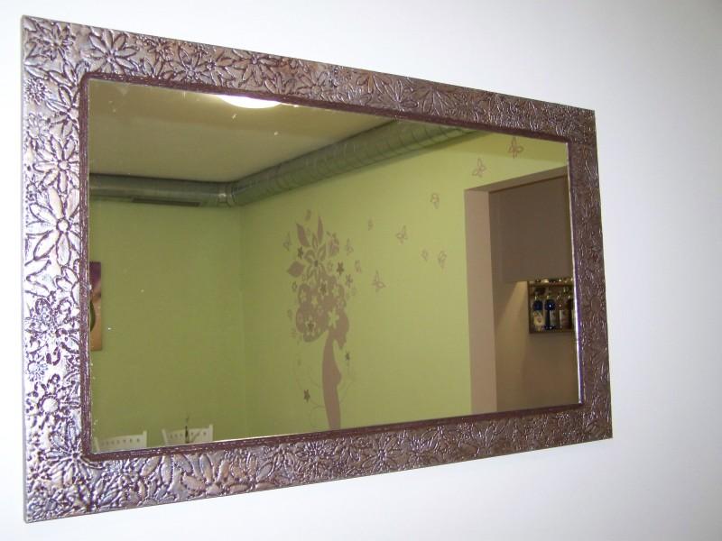 Изработка на огледало с релефни мотиви