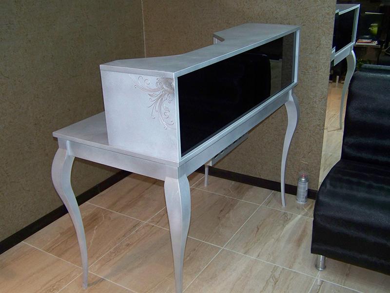 Боядисване в инокс на мебели с рисунки