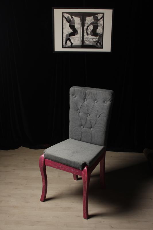 Рисуван ефектен стол