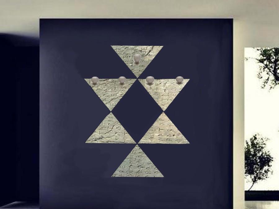 Рисувана закачалка с тракийски мотиви