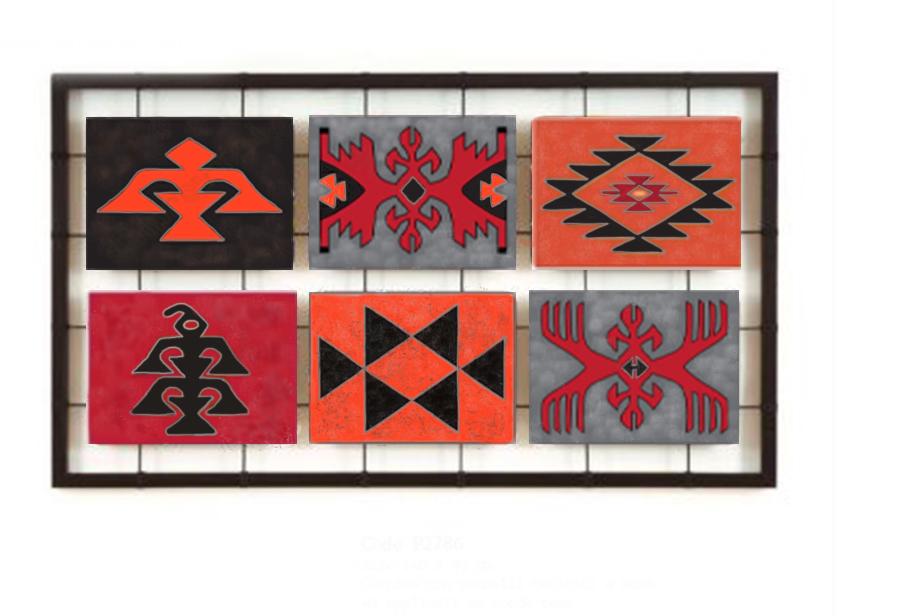 Рисувано пано с български мотиви по Ваши размери