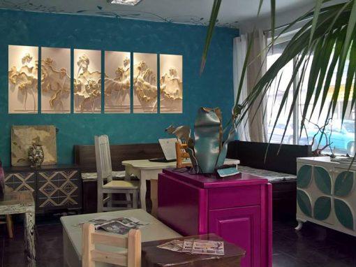 Шоурум в Бургас – ATELIER UPGRADE и мебели БОГОРА