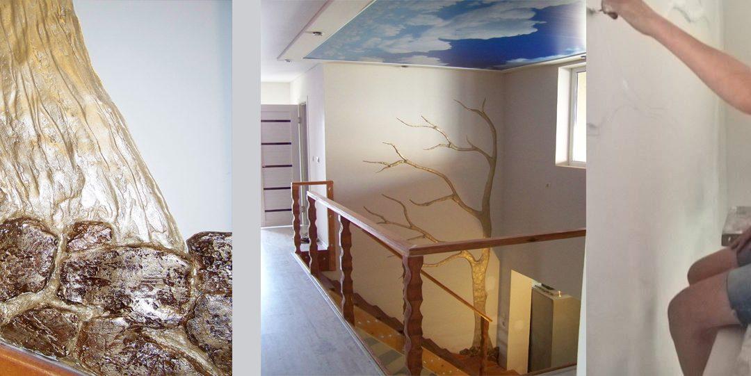 Ръчна изработка на барелефи върху стени по индивидуален проект