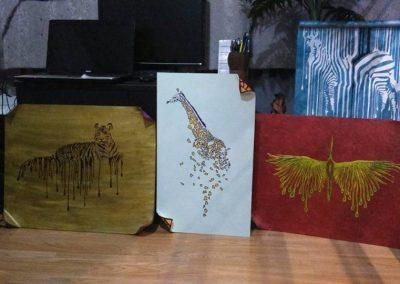 Ръчна изработка на рисувани пана и картини по индивидуални проекти