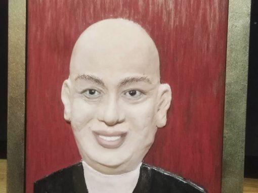 Изработка на барелефен портрет