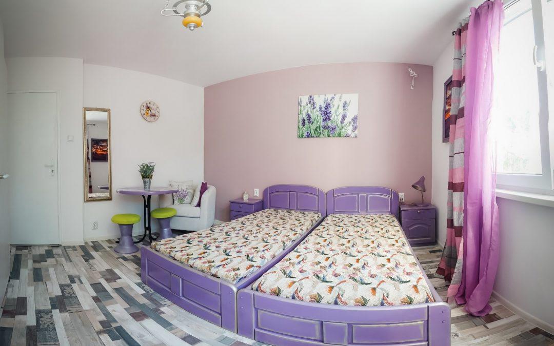 Редизайн на къща за гости, стая Vintage flowers
