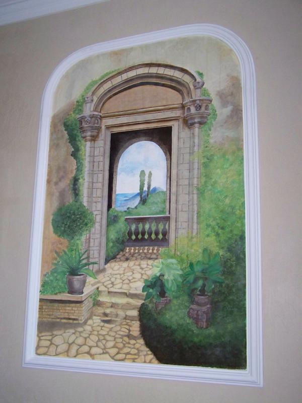 Фреска по проект на клиент