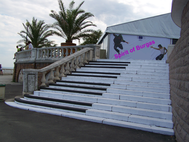 "Street art ""Пиано под звездите"" – Spirit of Burgas 2012"