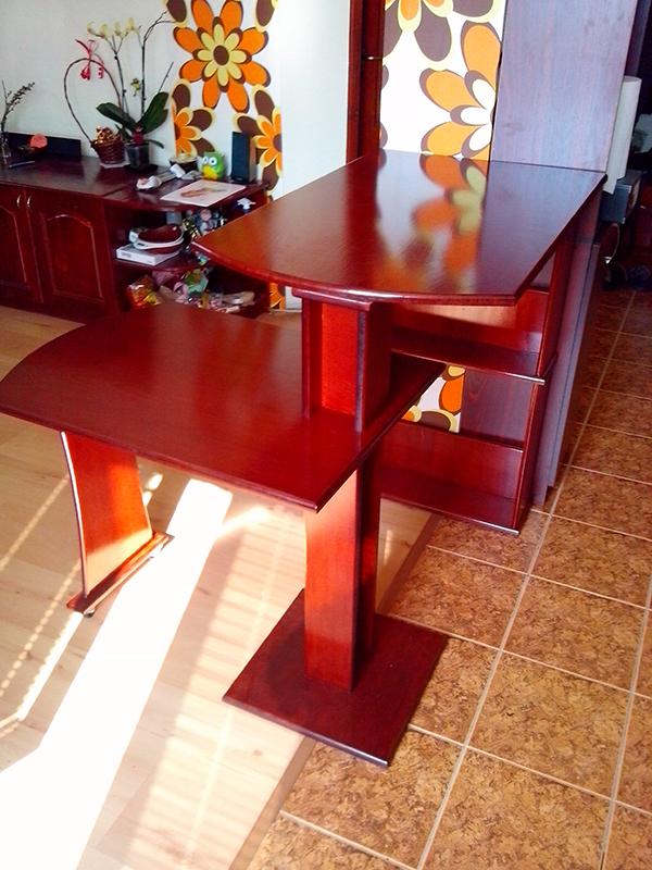 Функционален бар с маса за малки пространства