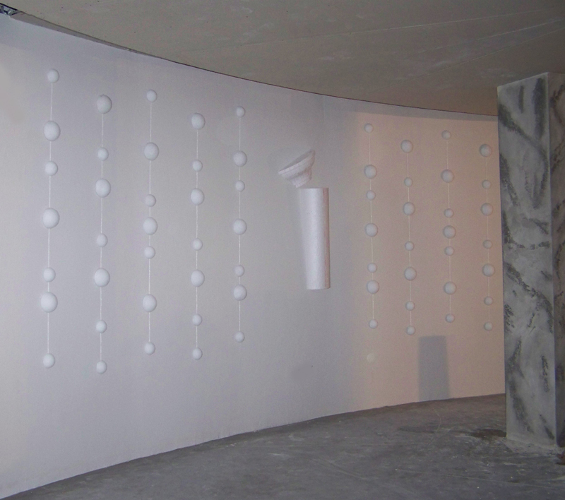 Изработка на гипсови отливки за интериор на заведение