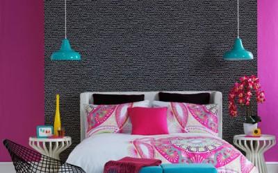 Спални в ярки цветове