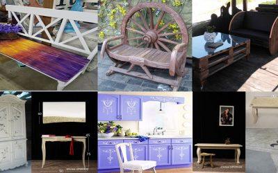 Мебели от масив / част 2 /. Производство на арт мебели , ръчно рисувани и ексклузивно обработени в серийно производство и по проект.