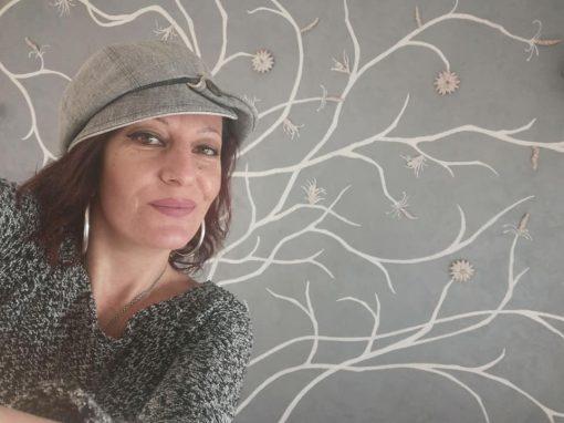 Барелефна рисунка върху стена
